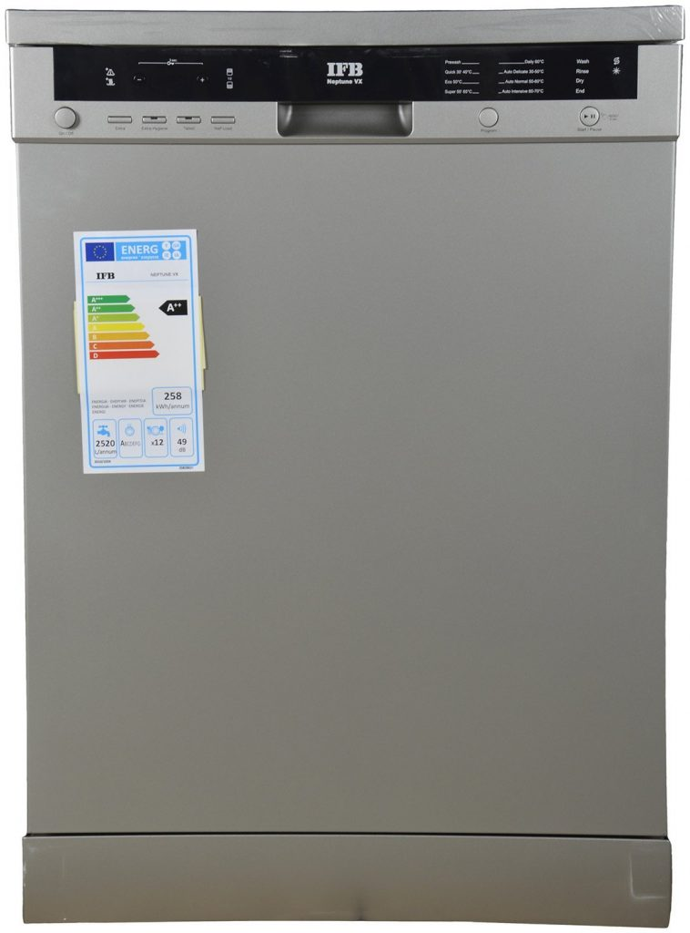 IFB Neptune VX Fully Electronic Dishwasher