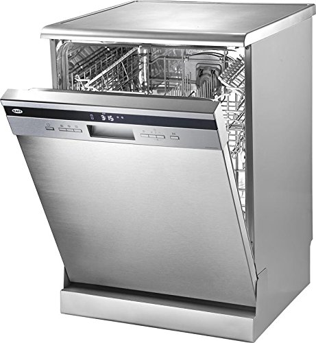 Kaff Stainless Steel Free Standing Dishwasher, KDW VX 60 Quadra