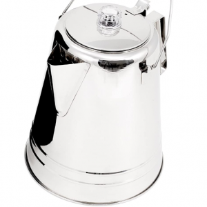 GSI Glacier Stainless Steel Percolator