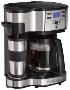 Hamilton Beach 49980Z 2-Way Brewer