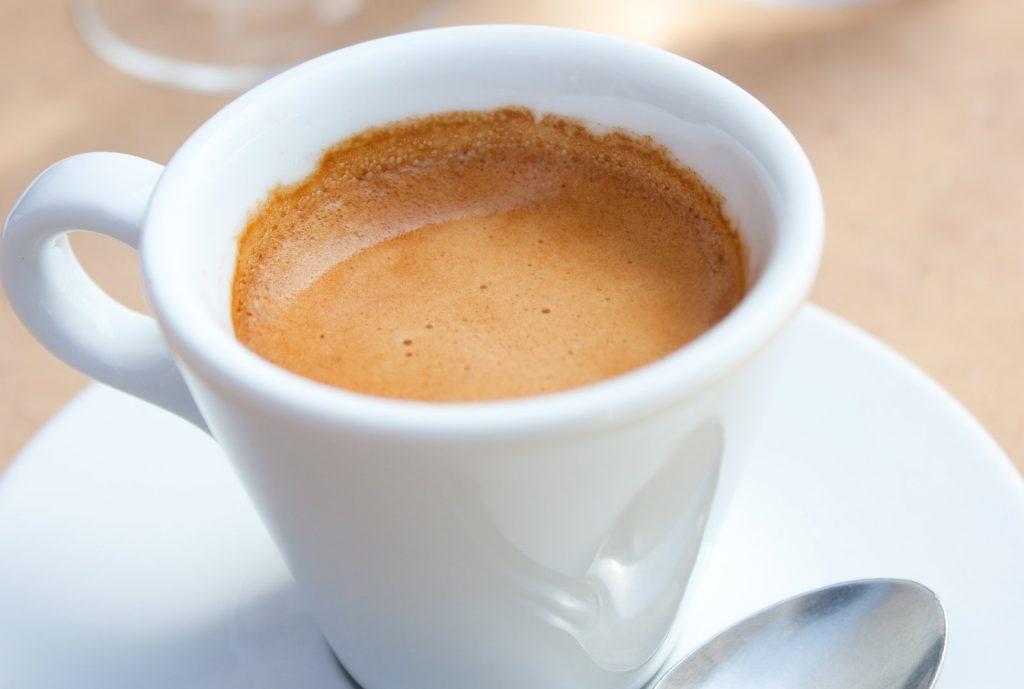 Freshly Made Espresso