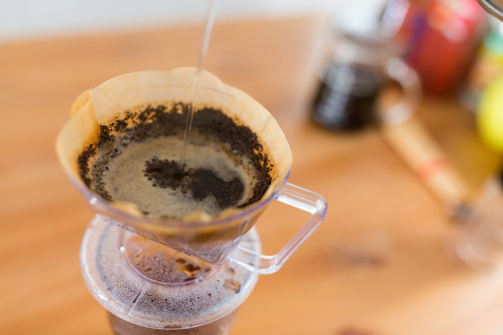 Use unbleached coffee filters